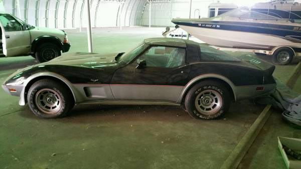 corvettes on craigslist 1978 corvette indy 500 pace car with 7 miles corvette sales news. Black Bedroom Furniture Sets. Home Design Ideas