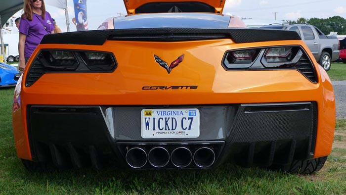 [PICS] The Corvette Vanity Plates of Corvettes at Carlisle 2015