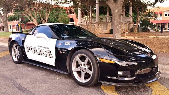 The City of New Braunfels Wants Your Help to Name their Corvette Z06 Police Car