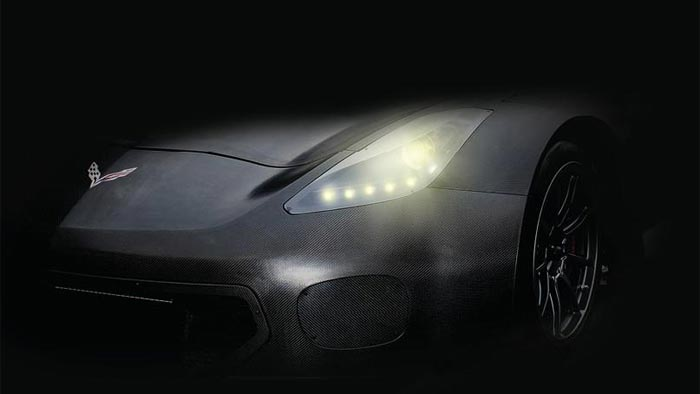 The Callaway Corvette C7 GT3 is Teased Ahead of October's Reveal