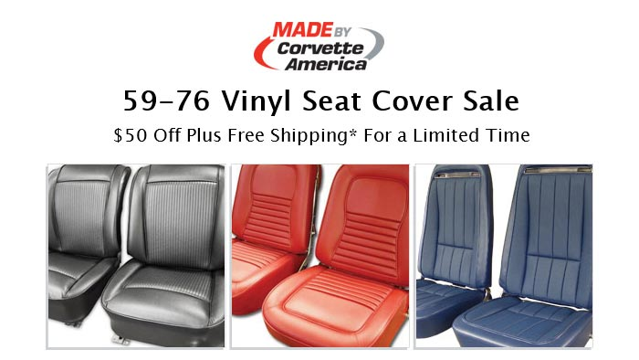 Save on 1959-76 Corvette Vinyl Seat Covers at Corvette America