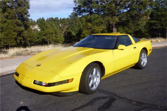 Lot 101 - 1991 CHEVROLET CORVETTE ZR1