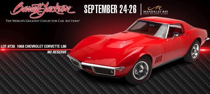 Corvette Auction Preview: Barrett-Jackson Las Vegas 2015