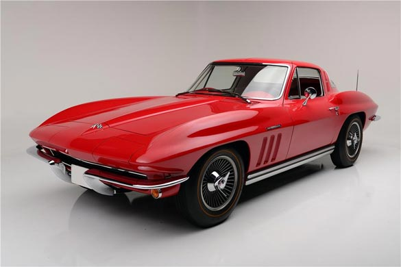 1965 CHEVROLET CORVETTE 327 FUELIE