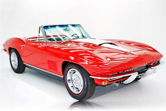 1967 CHEVROLET CORVETTE 427/400 CONVERTIBLE