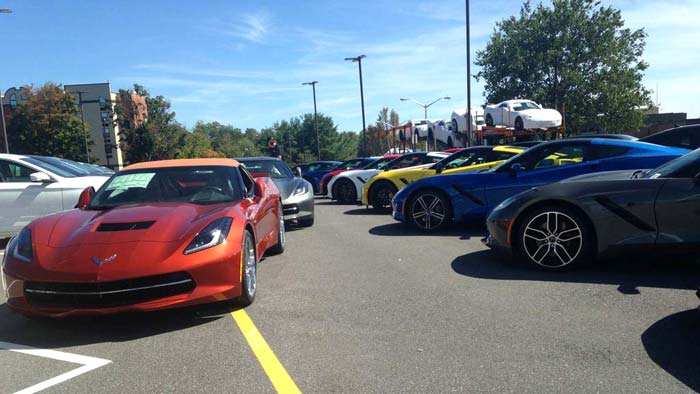 Corvette Delivery Dispatch with National Corvette Seller Mike Furman for Week of September 20th