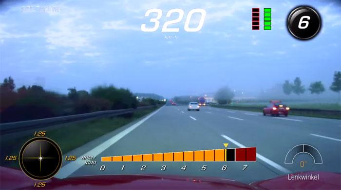 [VIDEO] Top Speed Corvette Z06 Run on the German Autobahn
