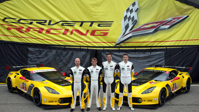 Familiar Four: Corvette Racing Re-Signs Full Season Drivers for 2016