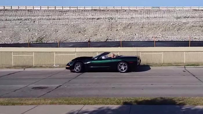 [ACCIDENT] Guy Crashes C5 Corvette when leaving Cars and Coffee Dallas