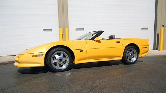 Rare 1991 Shinoda Mears Corvette Heading to Mecum Chicago this Weekend