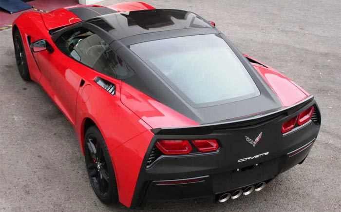[HOT or NOT] Matte Black Tailed C7 Corvette Stingray
