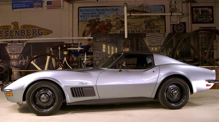 [VIDEO] Jimmie Johnson and His 1971 SEMA Corvette Visit Jay Leno's Garage