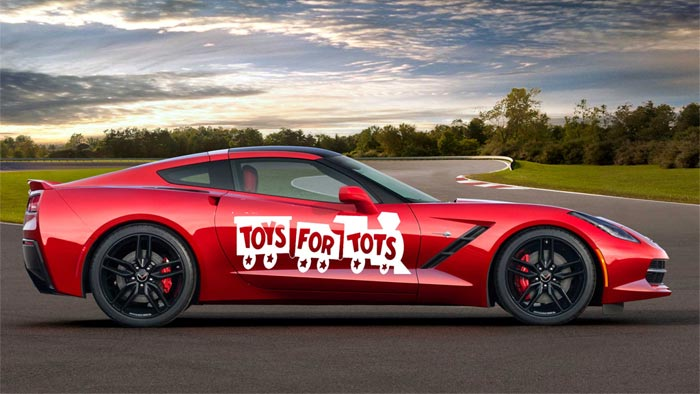 Join Kerbeck Corvette on Saturday for 12th Annual Toys for Tots Corvette Run