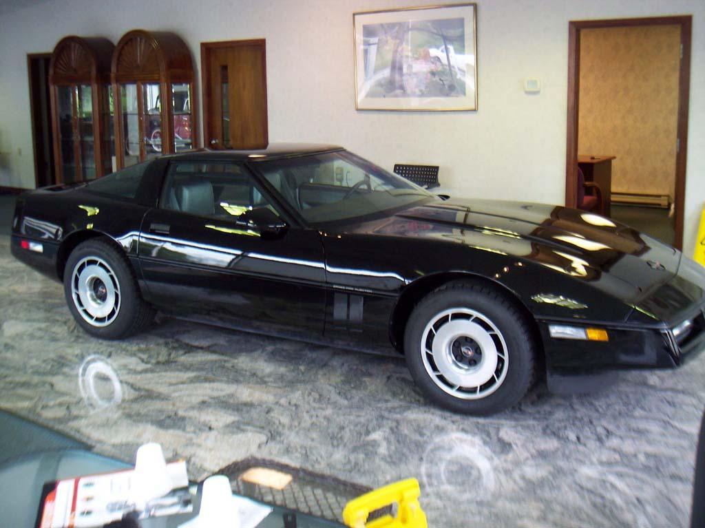 Corvettes on eBay: 1984 Corvette with 865 Original Miles