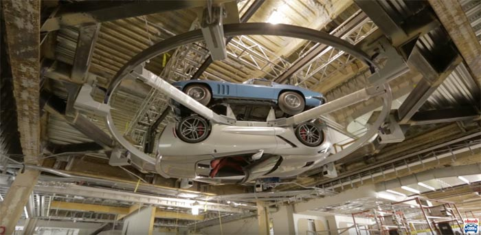 [VIDEO] Edmunds Celebrates New Office Space with 50 Year Corvette Display