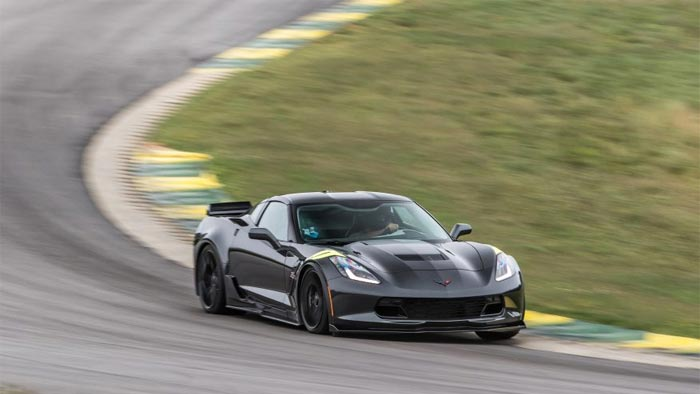 Video 2017 Corvette Grand Sport Runs 2 47 1 At Car And Driver S 2016