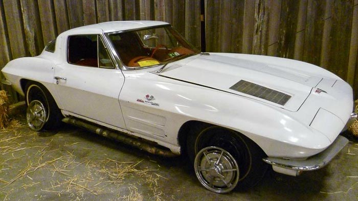 ProTeam Corvette Looking for History on 1963 Corvette Big Tank Z06 Barn Find