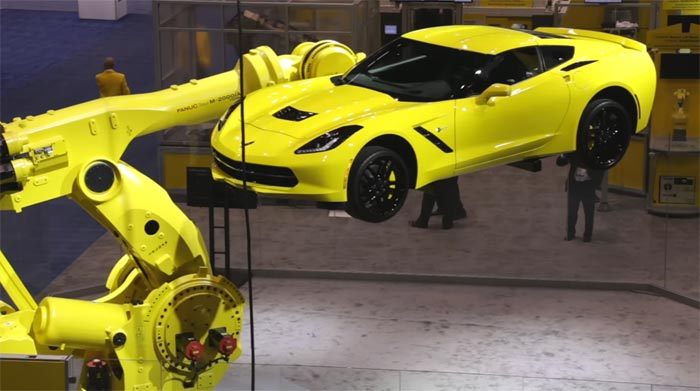 [VIDEO] Watch a Robot Display a Corvette Stingray at a Trade Show