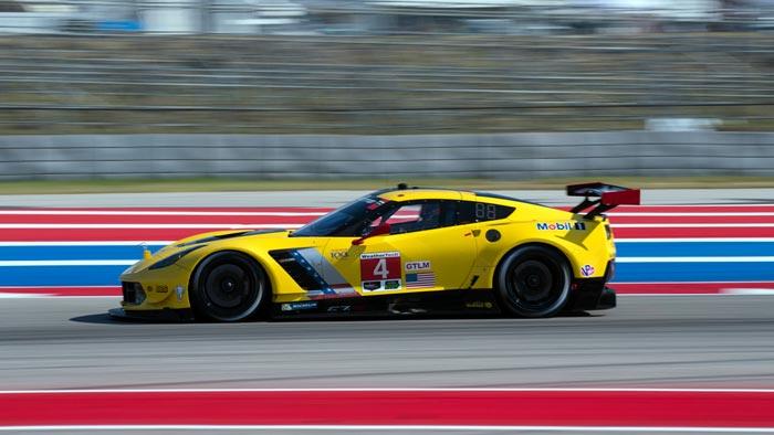 Corvette Racing at COTA: Progress Made in GTLM for Corvette C7.Rs