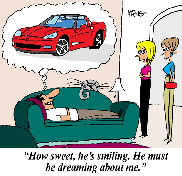 Saturday Morning Corvette Comic: Sweet Dreams (Are Made of This)