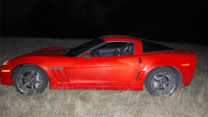 [STOLEN] Cops Arrest Two Men after High Speed Chase in a Stolen 2013 Corvette
