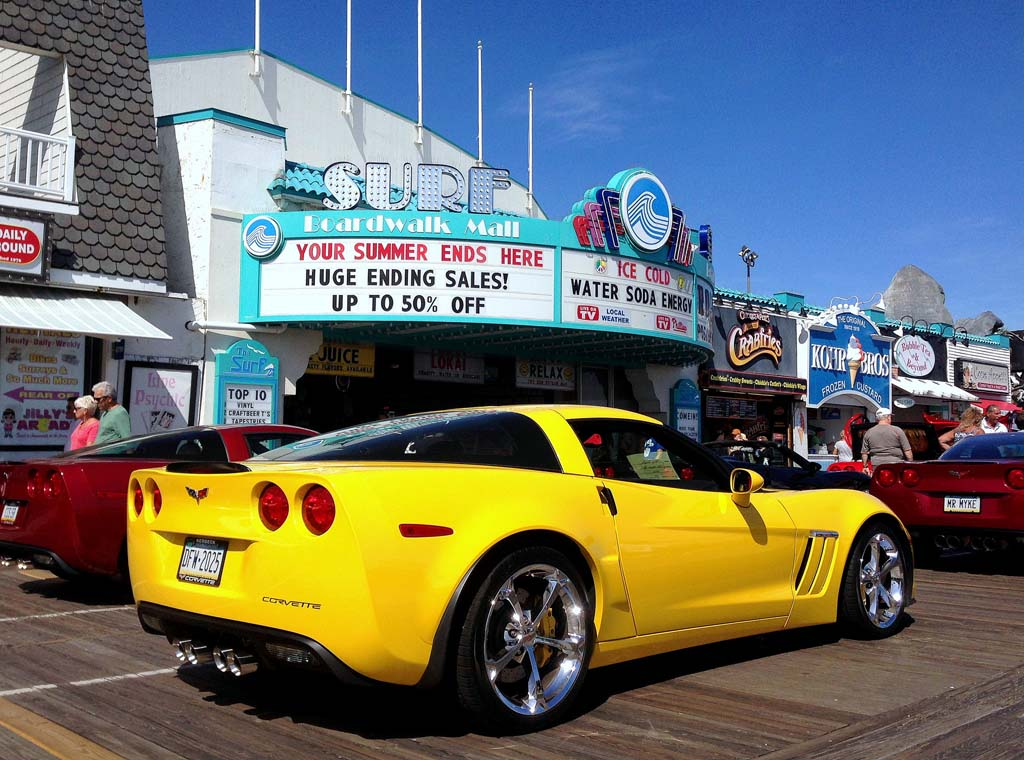 2016 Corvettes On The Boardwalk Show At Ocean City, NJ