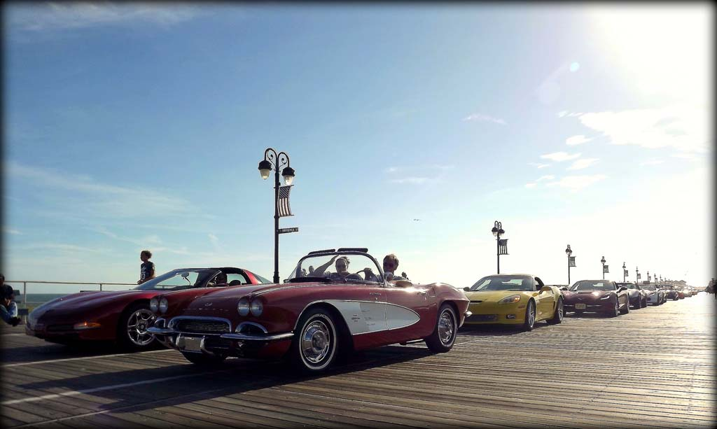 GALLERY Corvettes On The Boardwalk Show At Ocean City NJ - Ocean city car show 2018