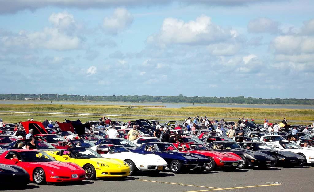 GALLERY Corvettes On The Boardwalk Show At Ocean City NJ - Ocean city car show