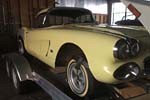 Corvettes on eBay: Barn Find 1962 Corvette Big Brake Fuelie