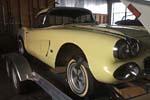 Corvettes on eBay: Barn Find 1962 Corvette Big Brake Fuelie