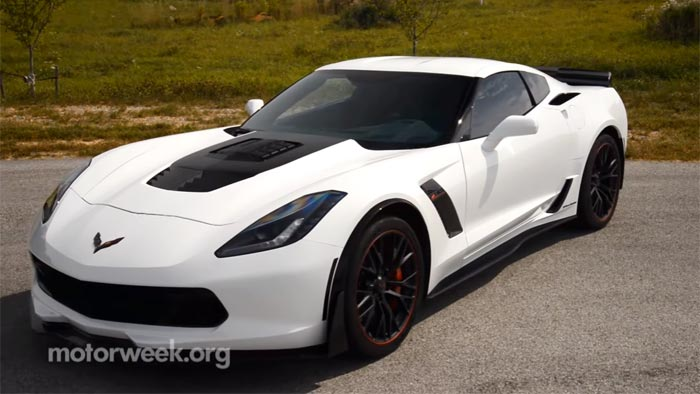 Video Motorweek Tests The 2016 Callaway Sc757 Corvette Z06