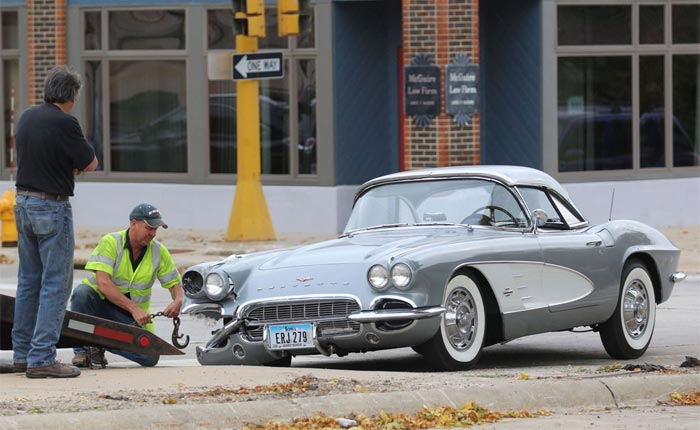 [ACCIDENT] 1961 Corvette Hit During Final Shakedown Following 15-Year Restoration