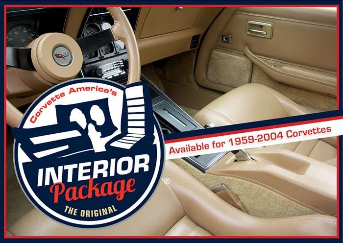 Corvette America Offers the Original Interior Package for 1959-2004 Corvettes
