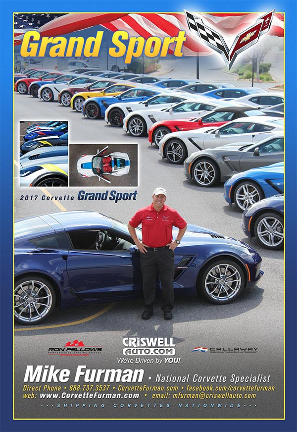 National Corvette Seller Mike Furman