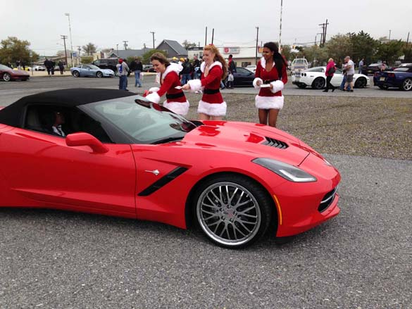 Kerbeck's Toys for Tots Corvette Run