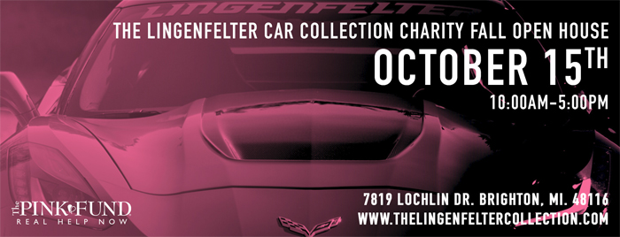 The Lingenfelter Car Collection Charity Fall Open House is Saturday