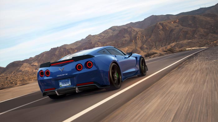 Genovation's Electric Corvette to Ride on Carbon Fiber Wheels