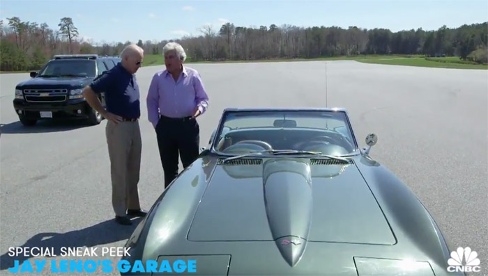 [VIDEO] VP Joe Biden Drives his 1967 Corvette on Jay Leno's Garage