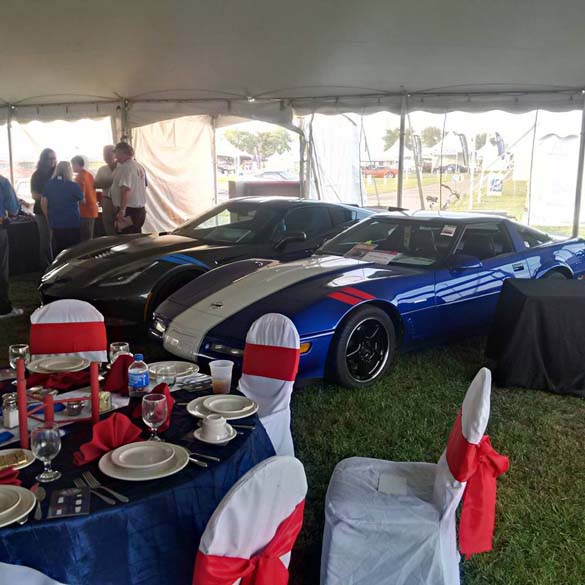 The Corvette Grand Sport Reunion at Corvette Funfest 2016