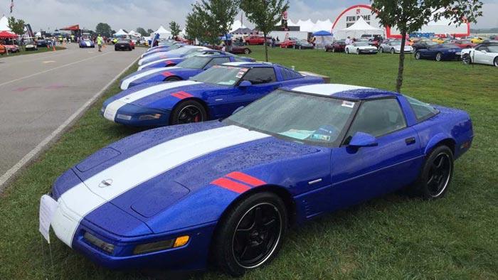 [GALLERY] The Corvette Grand Sport Reunion at Corvette Funfest 2016 (47 Corvette images)