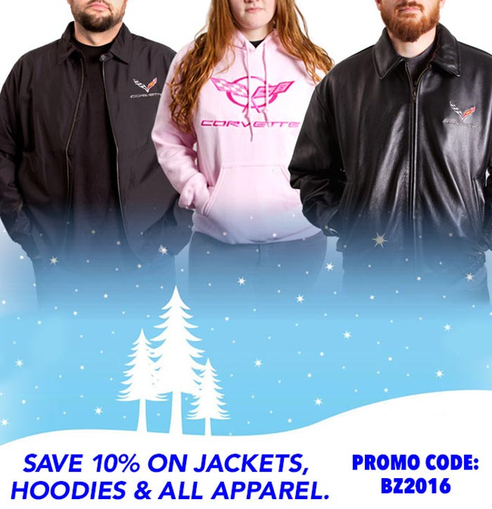 Save on Corvette Apparel at Zip Corvette!