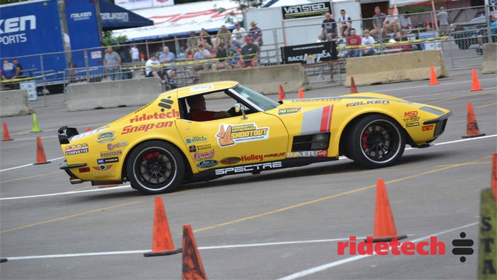 The RideTech 48-Hour Corvette to Compete at Las Vegas OUSCI