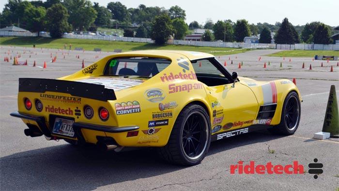 The RideTech 48-Hour Corvette to Compete at Las Vegas OUSCI