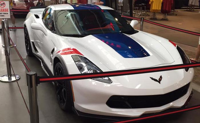 Brother of Corvette Hall of Fame Racer Dave McDonald Takes Delivery of a 2017 Grand Sport