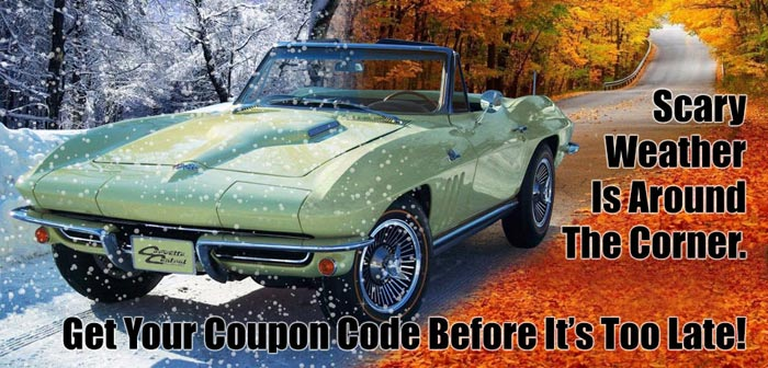 Prep your Corvette for Winter with Corvette Central