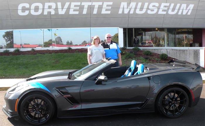 Corvette Museum Delivers First 2017 Corvette Grand Sport Collector Edition