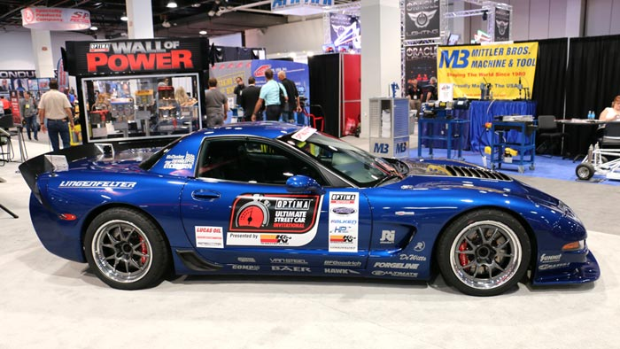 Danny Popp and his C5 Corvette Z06 Wins the 2016 OPTIMA Ultimate Street Car Invitational