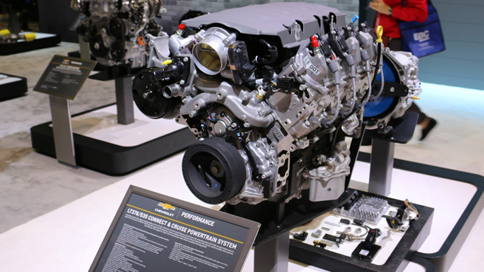 [VIDEO] Chevrolet Introduces the LT376/535 Crate Engine at SEMA 2016