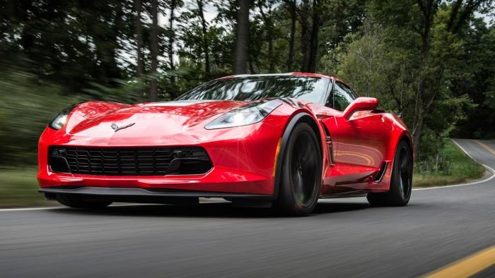 2017 Corvette Grand Sport Named To Car And Driver S 2017