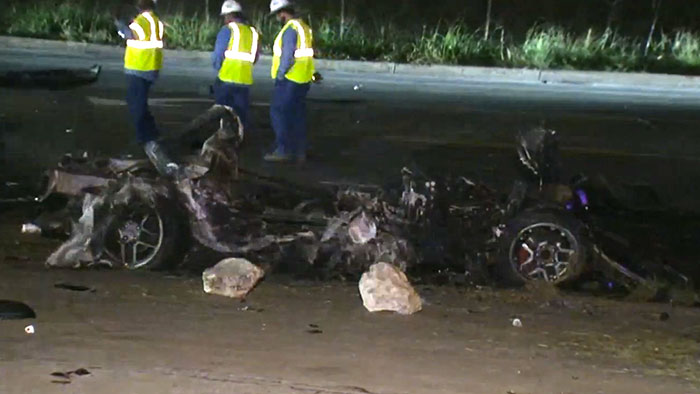 [ACCIDENT] Street Racing Corvette Driver Killed in Texas Crash